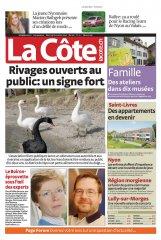 Journal La Côte 31 Oct. 2007, couverture
